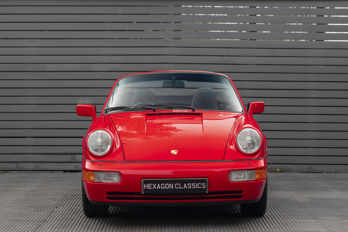 1990 Porsche 911 (964) C2 Cabriolet (ONLY 9600 MILES) For Sale (picture 3 of 15)