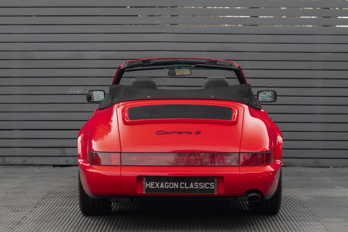 1990 Porsche 911 (964) C2 Cabriolet (ONLY 9600 MILES) For Sale (picture 4 of 15)