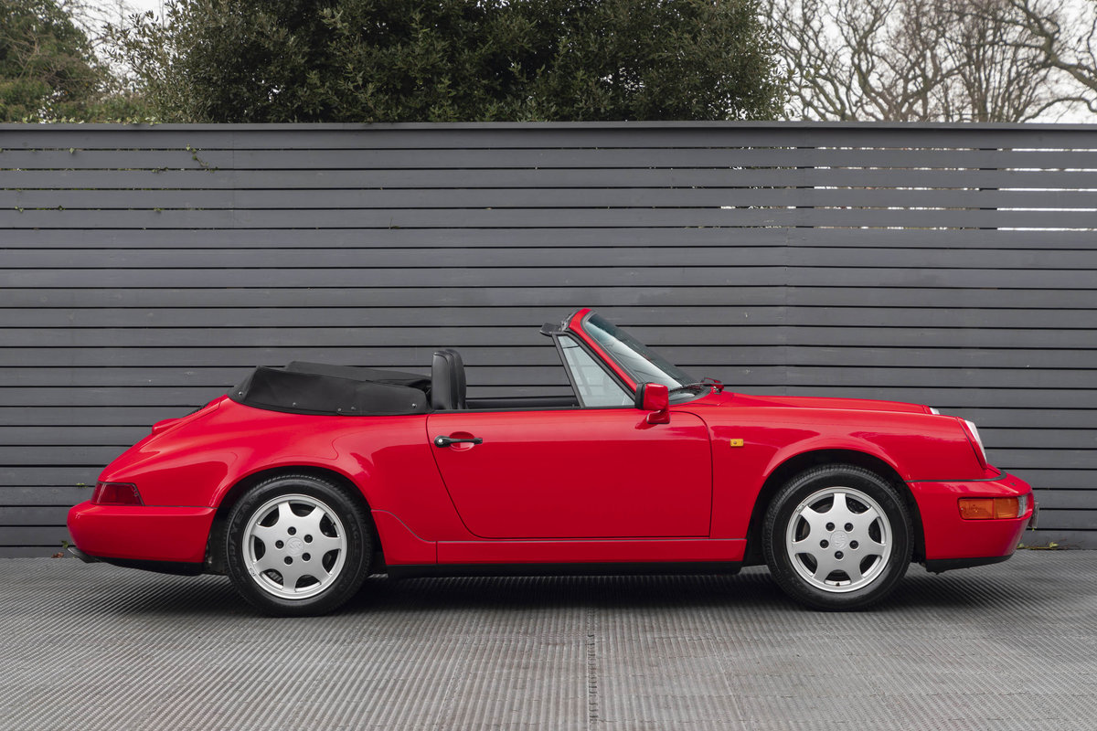 1990 Porsche 911 (964) C2 Cabriolet (ONLY 9600 MILES) For Sale (picture 6 of 15)