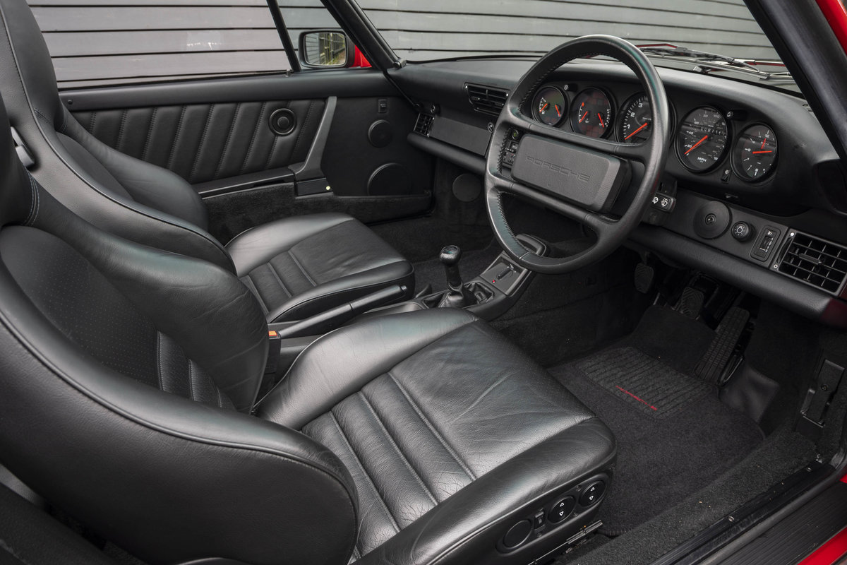 1990 Porsche 911 (964) C2 Cabriolet (ONLY 9600 MILES) For Sale (picture 7 of 15)