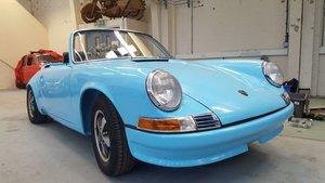 1972 Porsche 911T 2.4 Targa RHD Project