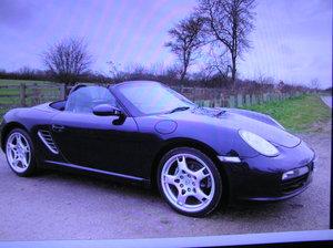 2005 Porsche Boxster 2.7 987 facelift convertible