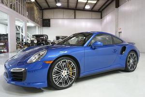 Picture of Sapphire Blue Metallic 2014 Porsche 911 Turbo S Coupe SOLD