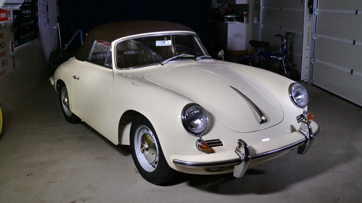 1960 Porsche 356B Convertible Full restored  For Sale (picture 1 of 6)