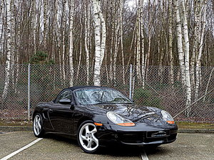 2001 Porsche Boxster 2.7 Manual with only 76,464 miles.