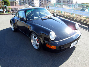1993 Porsche 964 Turbo 3.6 Coupe Rare All Black Fast $295k u For Sale