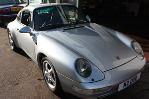Porsche 911 (993) Carrera Coupe 1995 Polar Silver with sroof For Sale