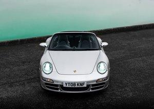 2008 Porsche 911  997 Carrera 4S Convertible For Sale by Auction