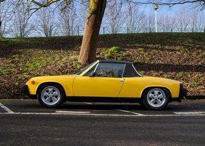 1976 Porsche 914 (2.0 litre) For Sale by Auction