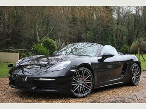 2018 Porsche 718 Boxster 2.5T S PDK (s/s) 2dr HUGE SPECIFICATION! For Sale