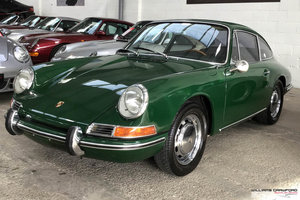 1967 Matching numbers Porsche 911 SWB LHD coupe