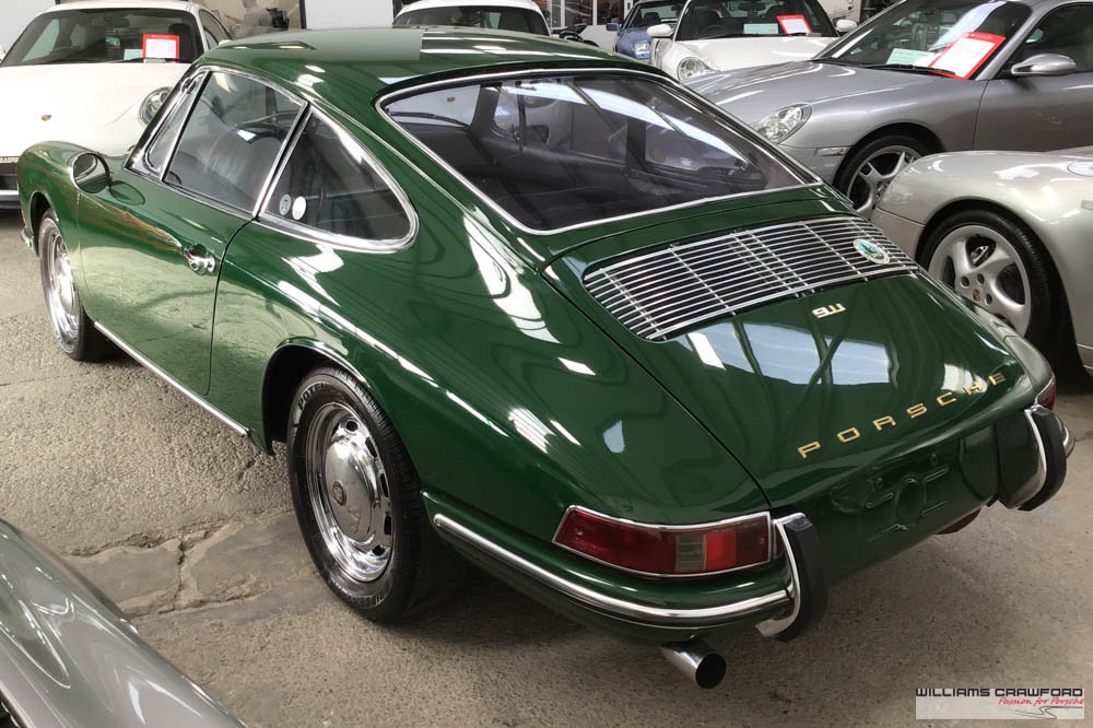 1967 Matching numbers Porsche 911 SWB LHD coupe For Sale (picture 2 of 6)