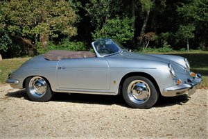 1960 Porsche 356B 'Super 90' Roadster Matching Numbers For Sale by Auction