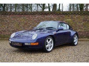 1995 Porsche 911 993 Carrera Coupé original Dutch delivered, only For Sale