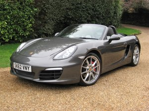 2012 Porsche Boxster 3.4 981 S PDK With £8k Options For Sale