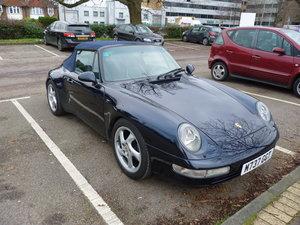 1995 Porsche 993 convertible LHD original FSH