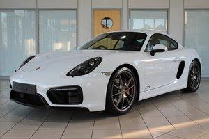 2015 Porsche Cayman (981) 3.4 GTS Manual For Sale