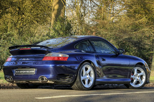 Porsche 911 Turbo Manual Coupe Lapis Blue X73 GT2 Suspension