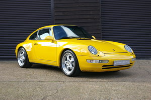 1995 Porsche 993 Carrera 4 3.6 Coupe AWD Manual (83,000 miles) For Sale