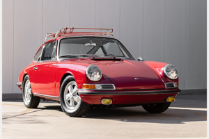1967 Porsche 911S Coupe clean Red Correct Driver $182.5k