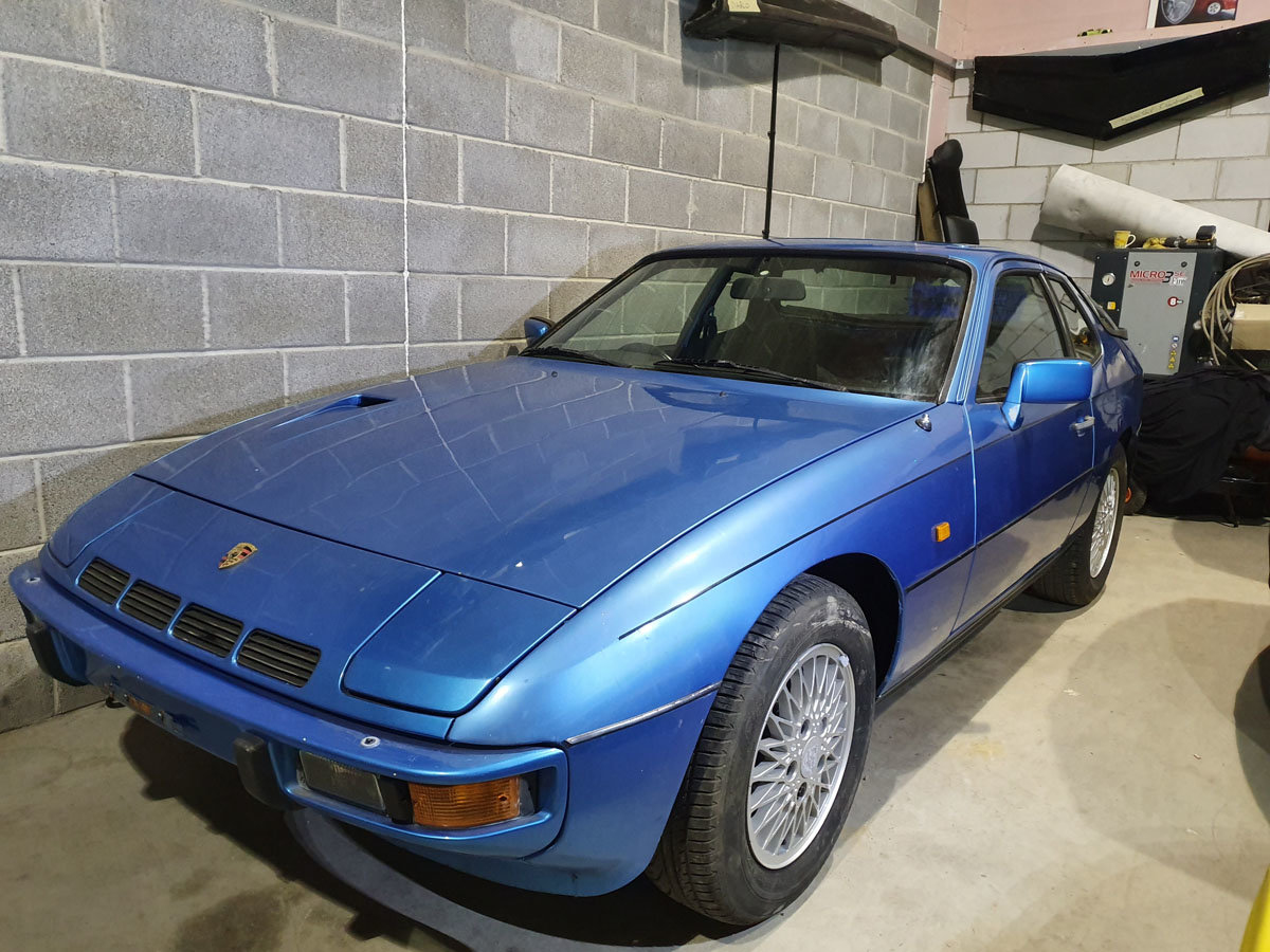 1981 Porsche 924 Turbo Series II 22 Feb 2020 For Sale by Auction (picture 1 of 4)