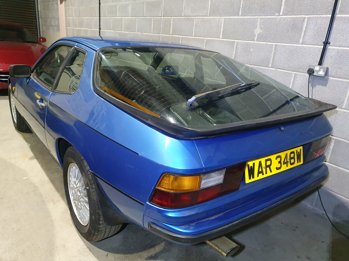 1981 Porsche 924 Turbo Series II 22 Feb 2020 For Sale by Auction (picture 2 of 4)