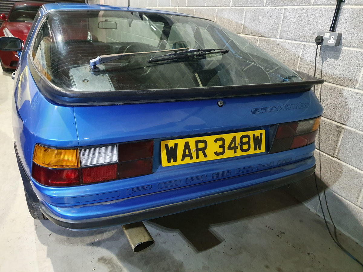 1981 Porsche 924 Turbo Series II 22 Feb 2020 For Sale by Auction (picture 3 of 4)