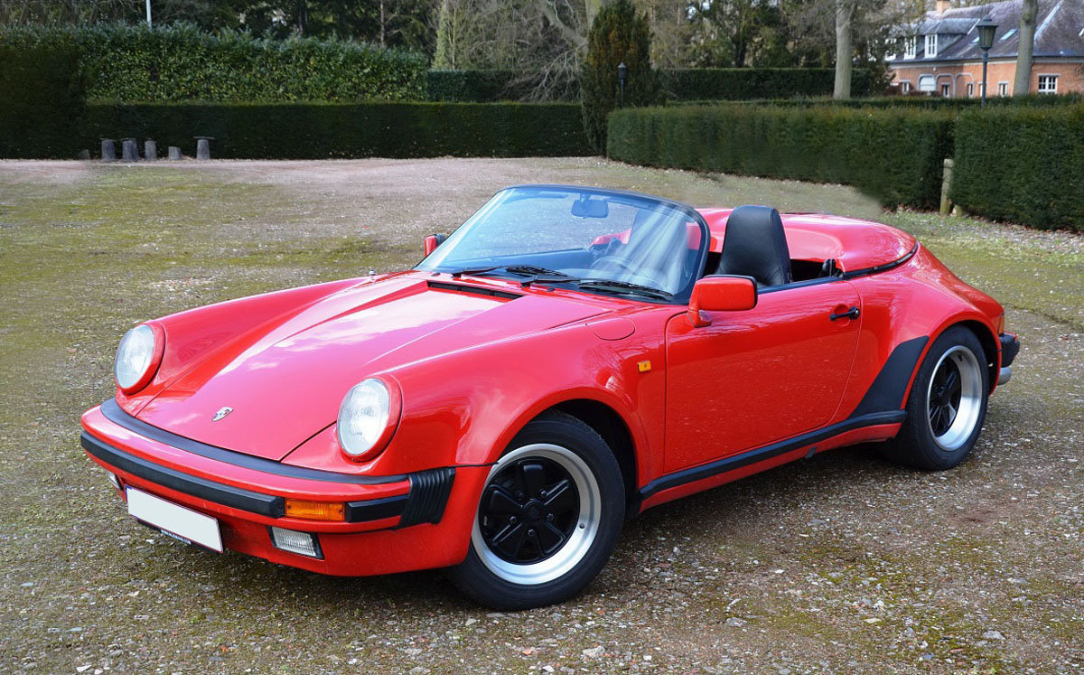 1989 Porsche 911 Speedster 22 Feb 2020 For Sale by Auction (picture 1 of 4)