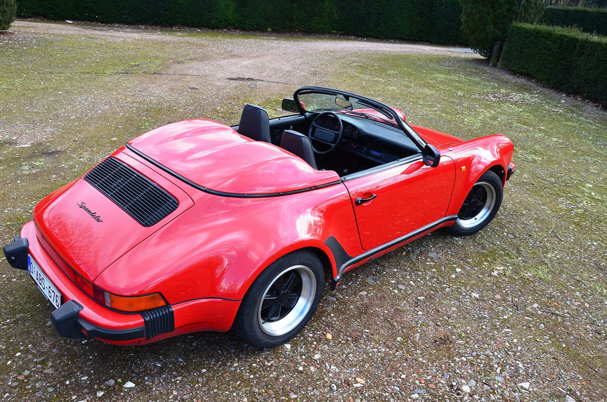 1989 Porsche 911 Speedster 22 Feb 2020 For Sale by Auction (picture 2 of 4)
