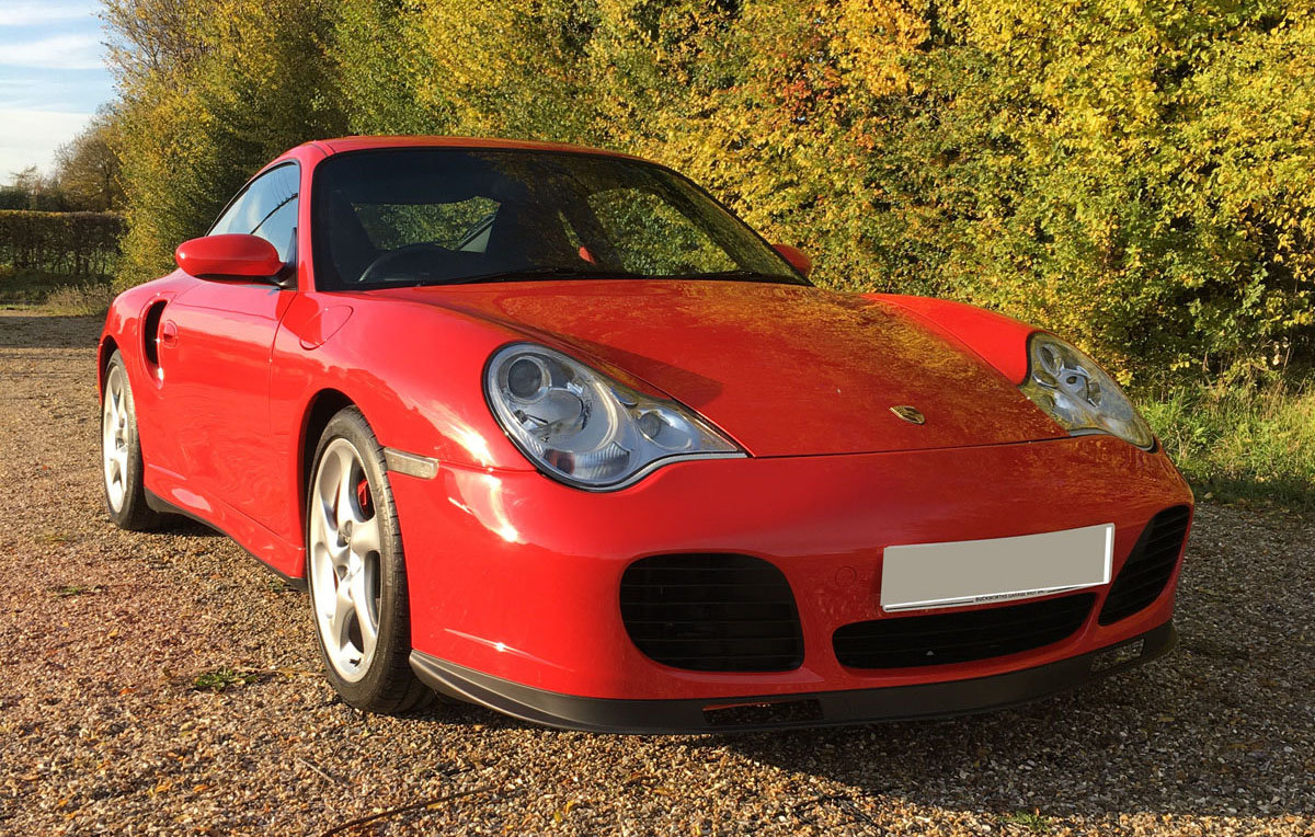 2003 Porsche 996 Turbo 22 Feb 2020 For Sale by Auction (picture 1 of 4)