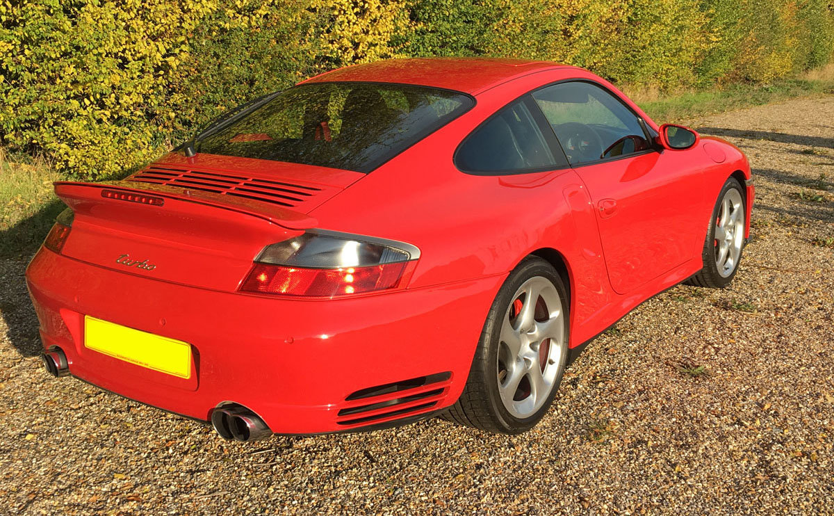 2003 Porsche 996 Turbo 22 Feb 2020 For Sale by Auction (picture 2 of 4)
