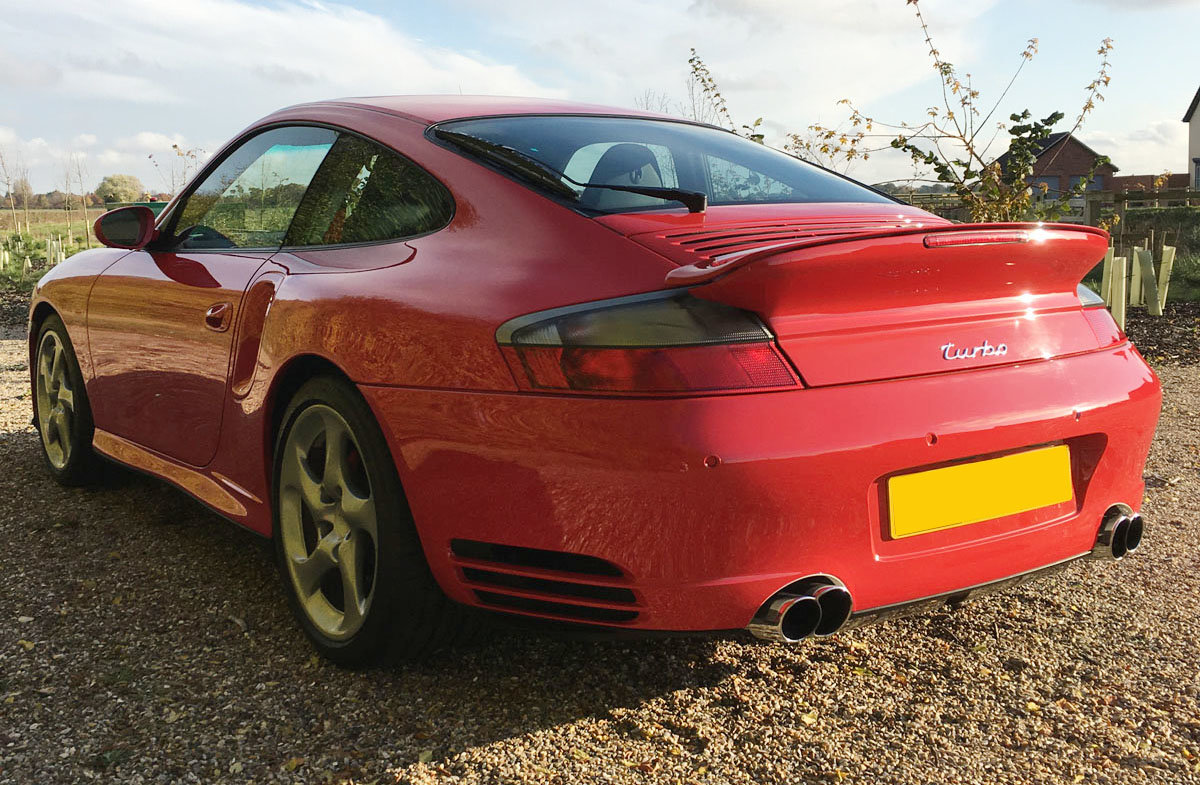 2003 Porsche 996 Turbo 22 Feb 2020 For Sale by Auction (picture 3 of 4)