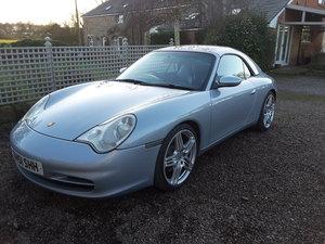 2002 Porsche 996 convertible  Gen2 manual.