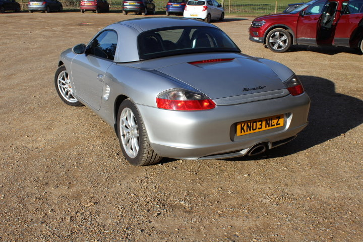 2003 Porsche Boxster 2.7 manual  For Sale (picture 5 of 6)
