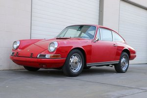 1966 Porsche 912 Coupe Roller Project NO Engine-Trans $19.5k For Sale