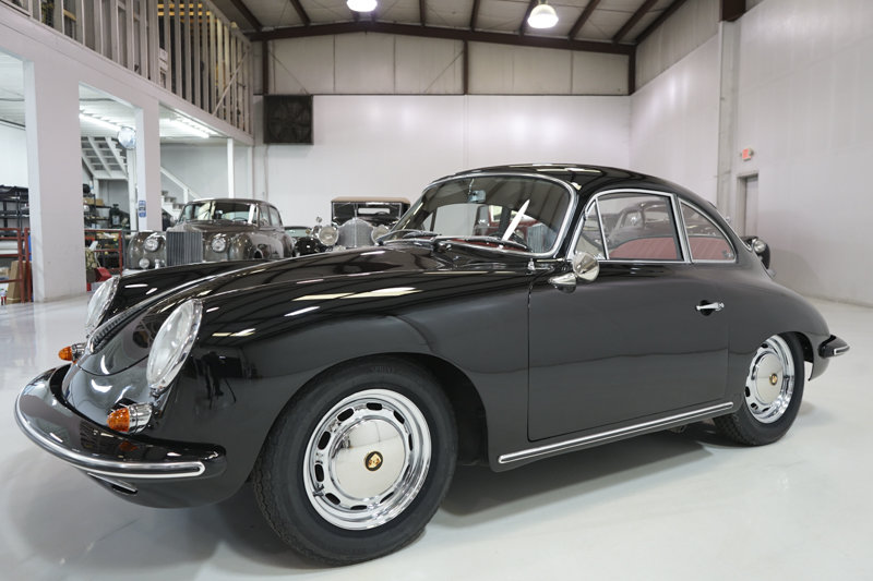 1964 Porsche 356SC Coupe by Karmann SOLD (picture 1 of 6)