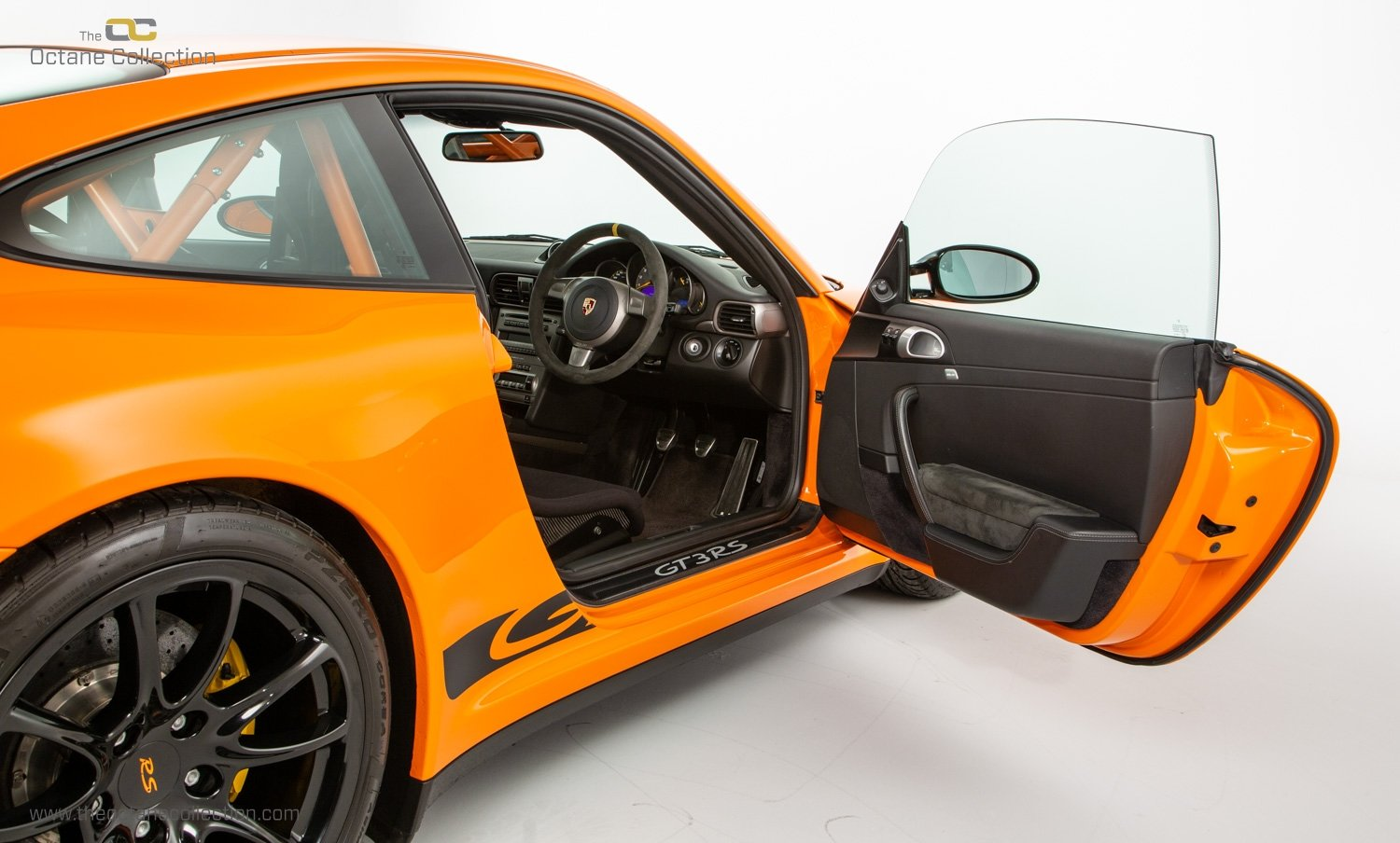 2007 PORSCHE 911 (997) GT3 RS // 1 OF 25 ORANGE EXAMPLES // RHD  SOLD (picture 13 of 24)