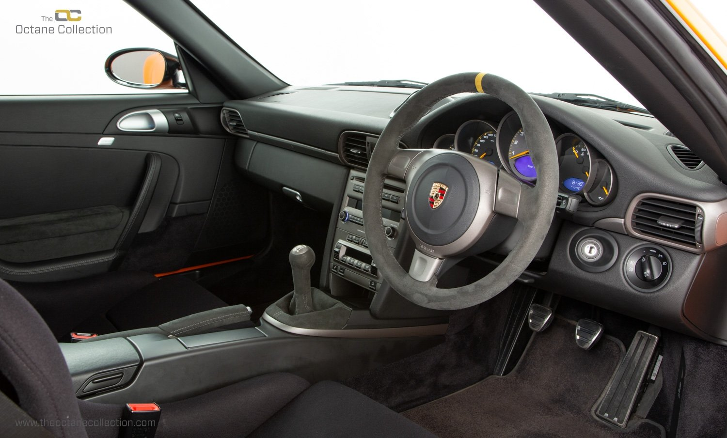 2007 PORSCHE 911 (997) GT3 RS // 1 OF 25 ORANGE EXAMPLES // RHD  SOLD (picture 14 of 24)