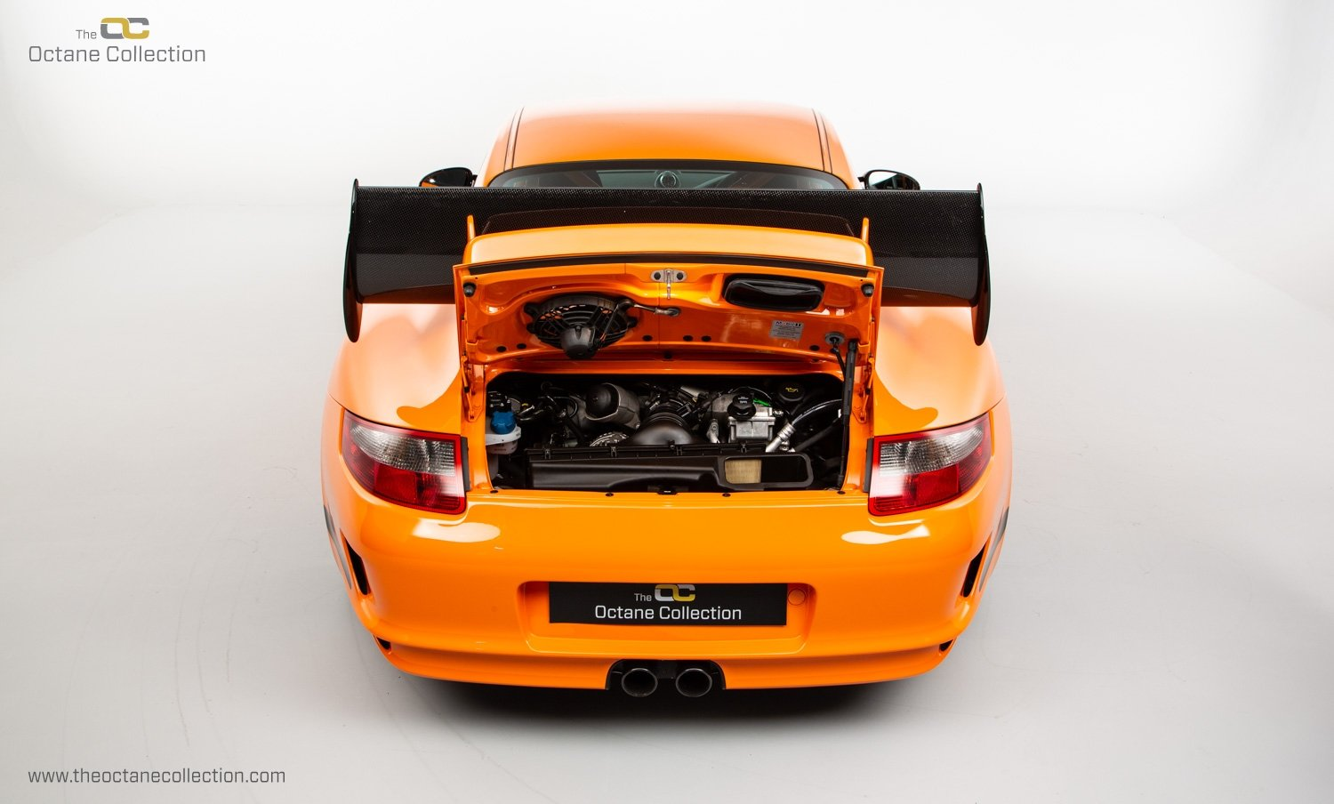 2007 PORSCHE 911 (997) GT3 RS // 1 OF 25 ORANGE EXAMPLES // RHD  SOLD (picture 19 of 24)