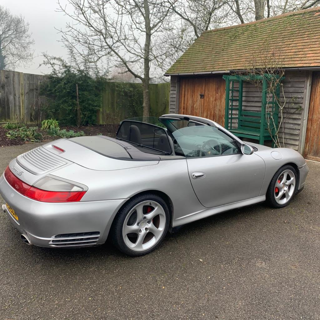 2003 Porsche 911 Carrera 4S Convertible 19,000 miles   SOLD by Auction (picture 2 of 6)