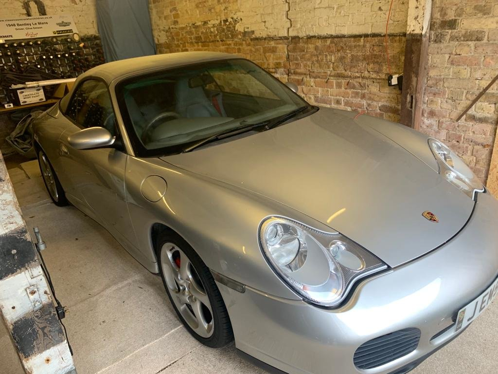 2003 Porsche 911 Carrera 4S Convertible 19,000 miles   SOLD by Auction (picture 5 of 6)