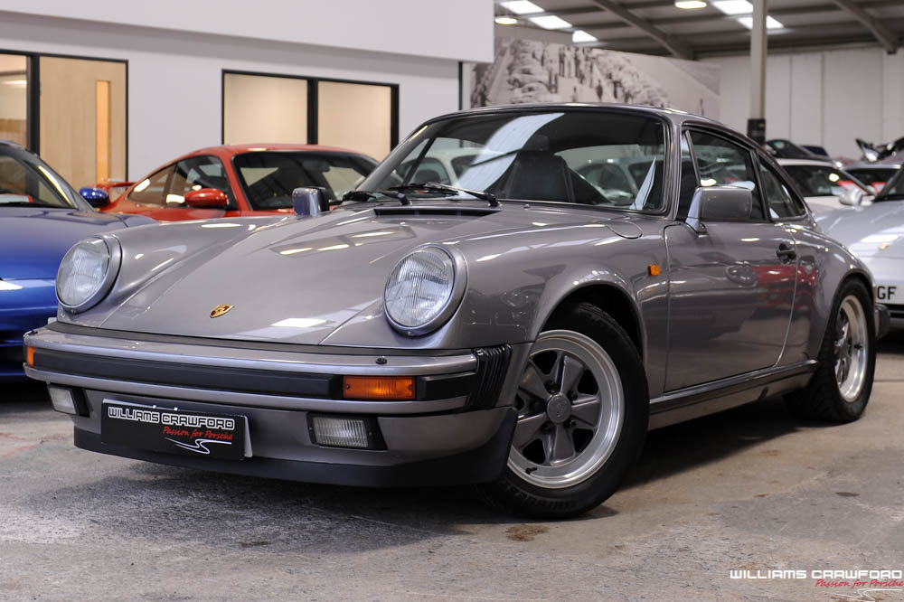 1987 Porsche 911 Carrera 3.2 Sport coupe (G50 manual) For Sale (picture 1 of 6)