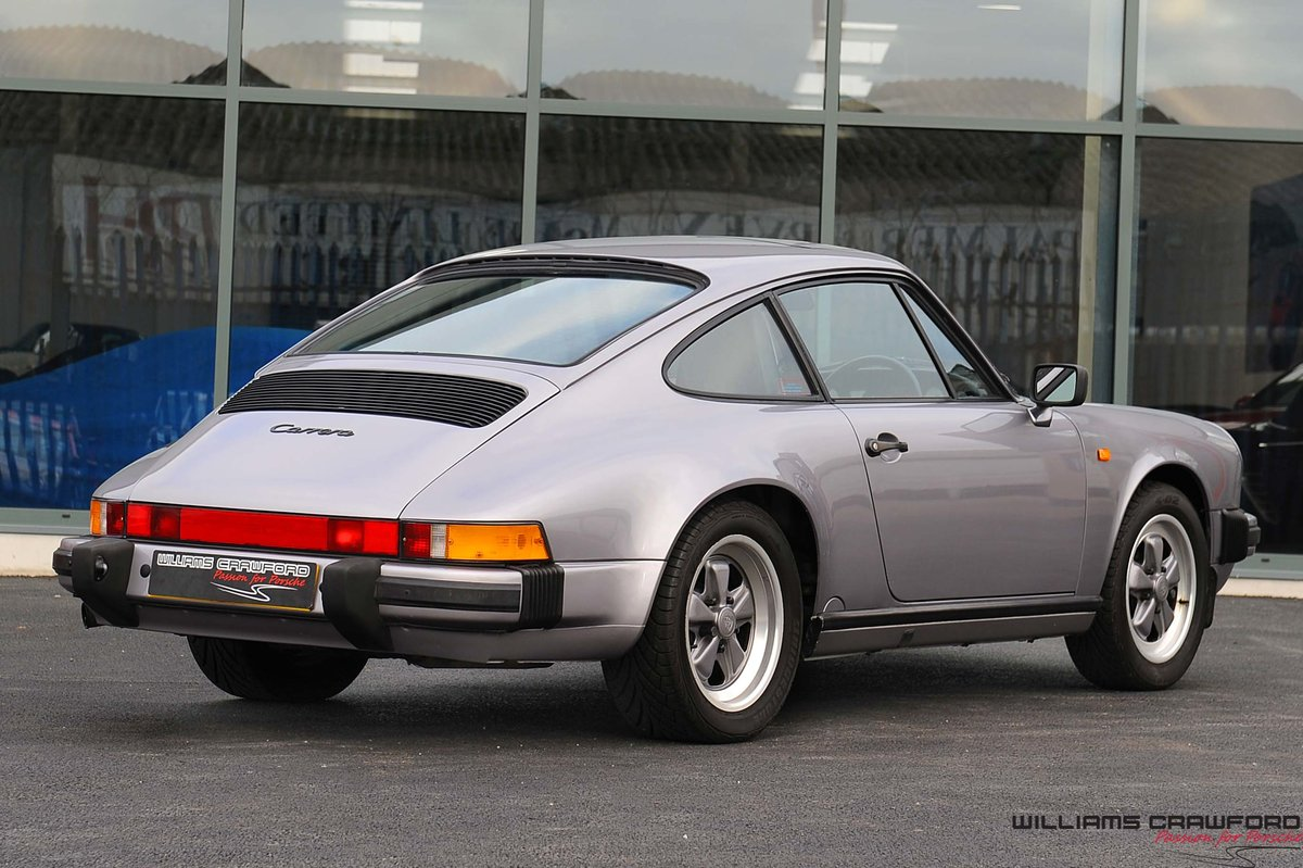 1987 Porsche 911 Carrera 3.2 Sport coupe (G50 manual) For Sale (picture 2 of 6)