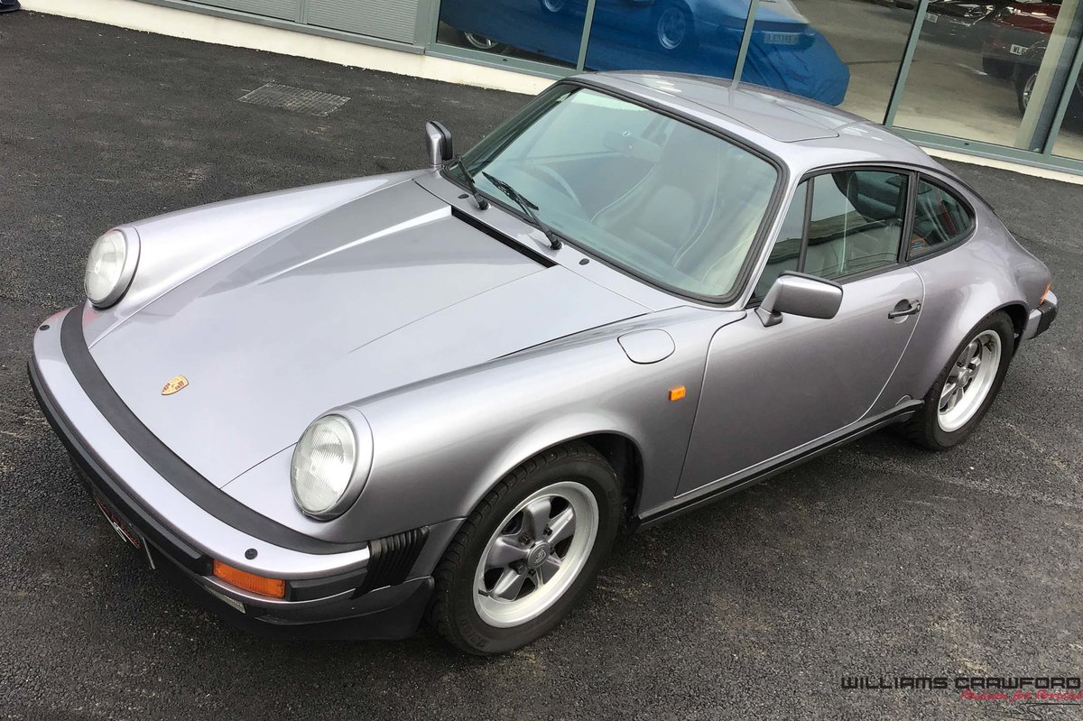1987 Porsche 911 Carrera 3.2 Sport coupe (G50 manual) For Sale (picture 3 of 6)