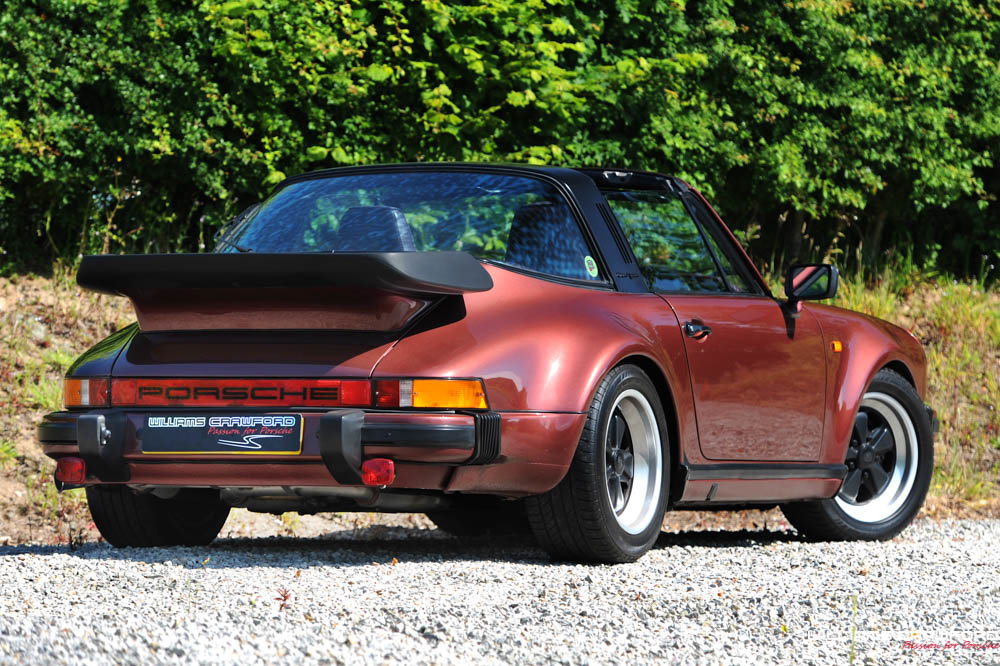 1986 Porsche 911 Carrera 3.2 Turbo-Look SSE Supersport Targa For Sale (picture 1 of 6)