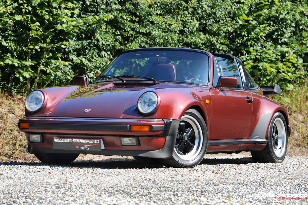 1986 Porsche 911 Carrera 3.2 Turbo-Look SSE Supersport Targa For Sale (picture 3 of 6)