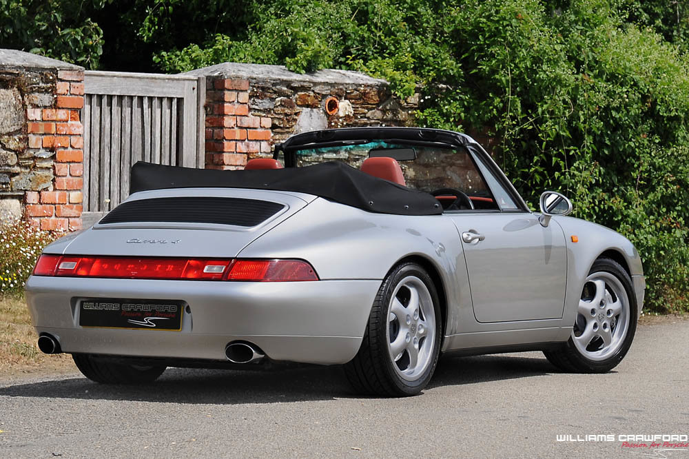 1998 Last of the last... Porsche 993 Carrera 4 cabriolet manual For Sale (picture 2 of 6)