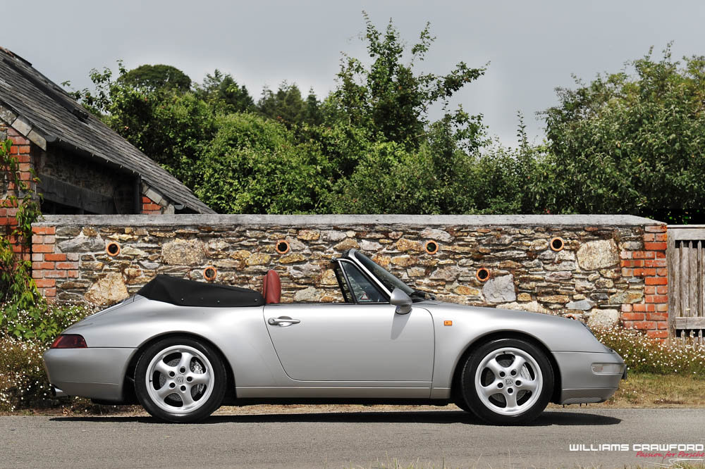 1998 Last of the last... Porsche 993 Carrera 4 cabriolet manual For Sale (picture 3 of 6)