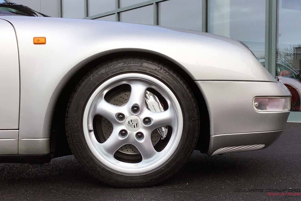 1998 Last of the last... Porsche 993 Carrera 4 cabriolet manual For Sale (picture 4 of 6)