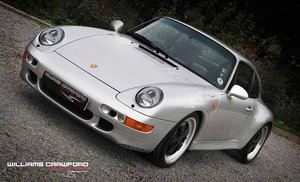 1997 Beautifully modified Porsche 993 Carrera 2 S manual coupe For Sale